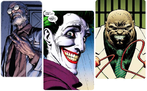 Dr Abraham Cornelius, the Joker, and Kingpin