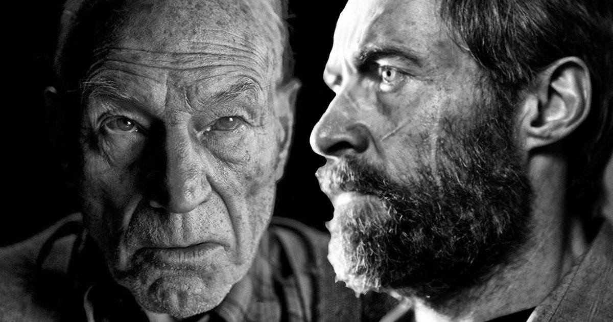Logan and Charles Xavier as old men